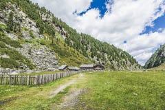 Paesaggio di Tirolo, Austria ad estate Fotografia Stock Libera da Diritti