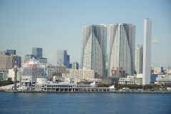 Paesaggio di Tokyo immagine stock libera da diritti