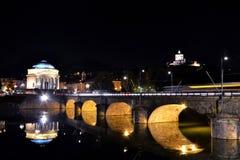 Paesaggio di Torino Fotografia Stock