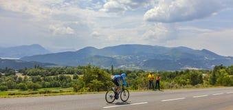 Paesaggio di Tour de France Fotografie Stock Libere da Diritti
