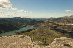 Paesaggio di un lago Immagine Stock Libera da Diritti