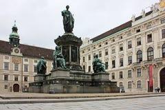 Paesaggio di Vienna Fotografia Stock Libera da Diritti