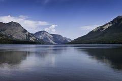 Paesaggio di Waterton immagine stock