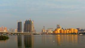 Paesaggio di Wuhan Fotografia Stock