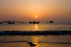 Paesaggio di Xiapu Fotografie Stock