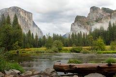 Paesaggio di Yosemite Fotografia Stock