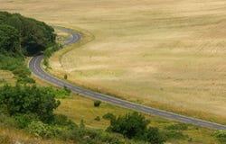 Paesaggio dietro la testa sassosa, Inghilterra immagine stock