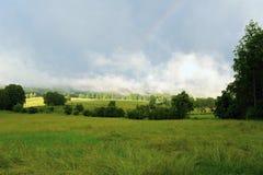 Paesaggio dopo la tempesta Fotografia Stock