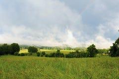 Paesaggio dopo la tempesta Immagini Stock Libere da Diritti