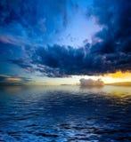 Paesaggio drammatico fotografia stock