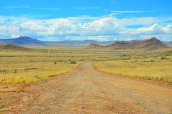 Paesaggio drammatico della Namibia Immagini Stock Libere da Diritti