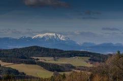 paesaggio e alta montagna Fotografia Stock Libera da Diritti