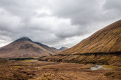 Paesaggio e montagna della Scozia Immagine Stock Libera da Diritti