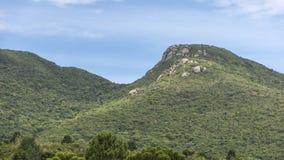 Paesaggio e rocce della montagna fotografia stock libera da diritti