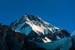 Paesaggio epico della montagna dell'Himalaya, Nepal fotografia stock libera da diritti