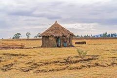 Paesaggio in Etiopia vicino a Gebre Guracha Fotografie Stock Libere da Diritti
