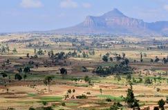 Paesaggio etiopico Fotografia Stock