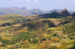 Paesaggio etiopico Fotografie Stock Libere da Diritti