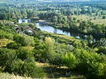 Paesaggio (Europa Orientale) Immagini Stock Libere da Diritti