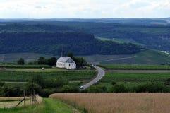 Paesaggio rurale europeo Fotografia Stock Libera da Diritti