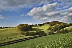 Paesaggio in falò di Brecon Fotografie Stock