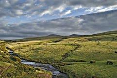 Paesaggio in falò di Brecon Fotografia Stock