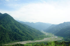 Paesaggio famoso della Taiwan Fotografia Stock