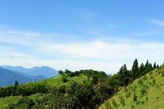 Paesaggio famoso della Taiwan: Montagna di Hehuan in taroko Immagine Stock