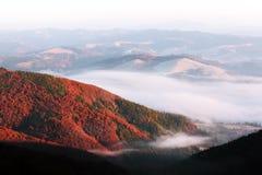 Paesaggio fantastico di autunno immagini stock