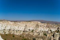 Paesaggio fantastico di Cappadocia turco fotografia stock