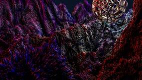 Paesaggio fantastico rappresentazione 3d royalty illustrazione gratis
