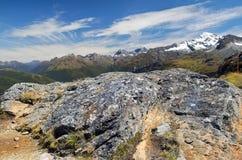 Paesaggio favoloso in Nuova Zelanda Immagini Stock Libere da Diritti