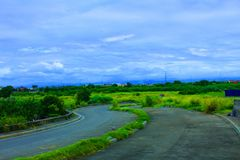 Paesaggio Filippine di muntinlupa di Sucat Immagine Stock Libera da Diritti