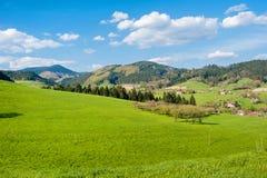 Paesaggio in Fischerbach-Mitteltal Immagini Stock