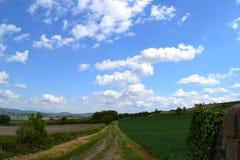Paesaggio francese Immagini Stock