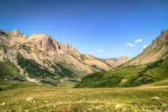 Paesaggio francese della montagna Immagini Stock Libere da Diritti