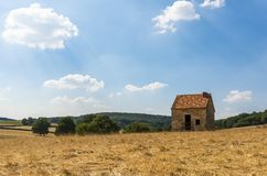 Paesaggio Francia della tettoia fotografie stock libere da diritti