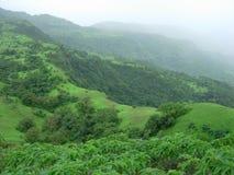 Paesaggio fresco di monsone Fotografia Stock Libera da Diritti