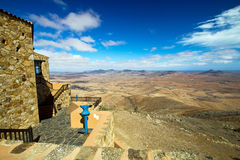 Paesaggio a Fuerteventura Fotografia Stock Libera da Diritti