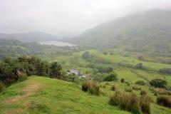 Paesaggio Galles della valle di Nant Gwynant immagine stock