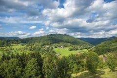 Paesaggio in Gengenbach Fotografie Stock Libere da Diritti