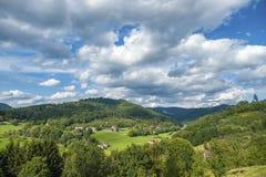Paesaggio in Gengenbach Immagine Stock