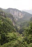 Paesaggio geologico Fotografia Stock