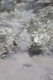 Paesaggio geotermico Fotografie Stock