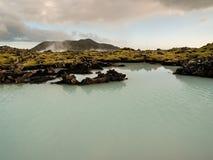 Paesaggio geotermico Islanda Fotografia Stock Libera da Diritti