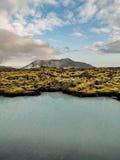 Paesaggio geotermico Islanda Fotografie Stock Libere da Diritti