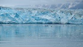 Paesaggio in ghiacciaio di Hubbard, Alaska, Stati Uniti fotografia stock