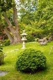 Paesaggio giapponese del giardino Immagini Stock