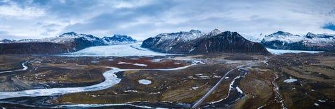Paesaggio glaciale dell'Islanda Fotografia Stock Libera da Diritti