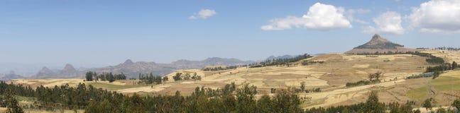 Paesaggio, Gondar, Etiopia Immagine Stock